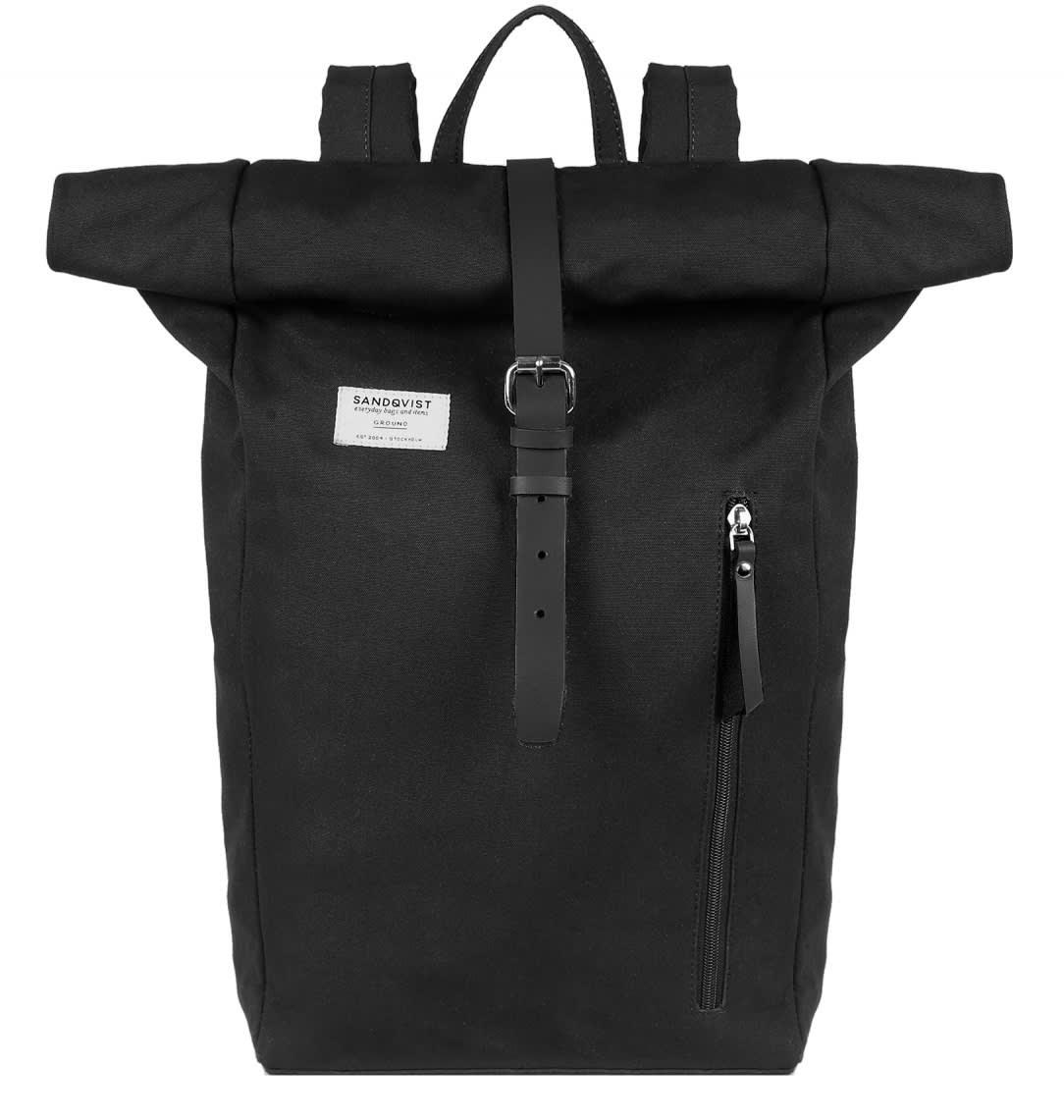Sandqvist  Black Dante Backpack