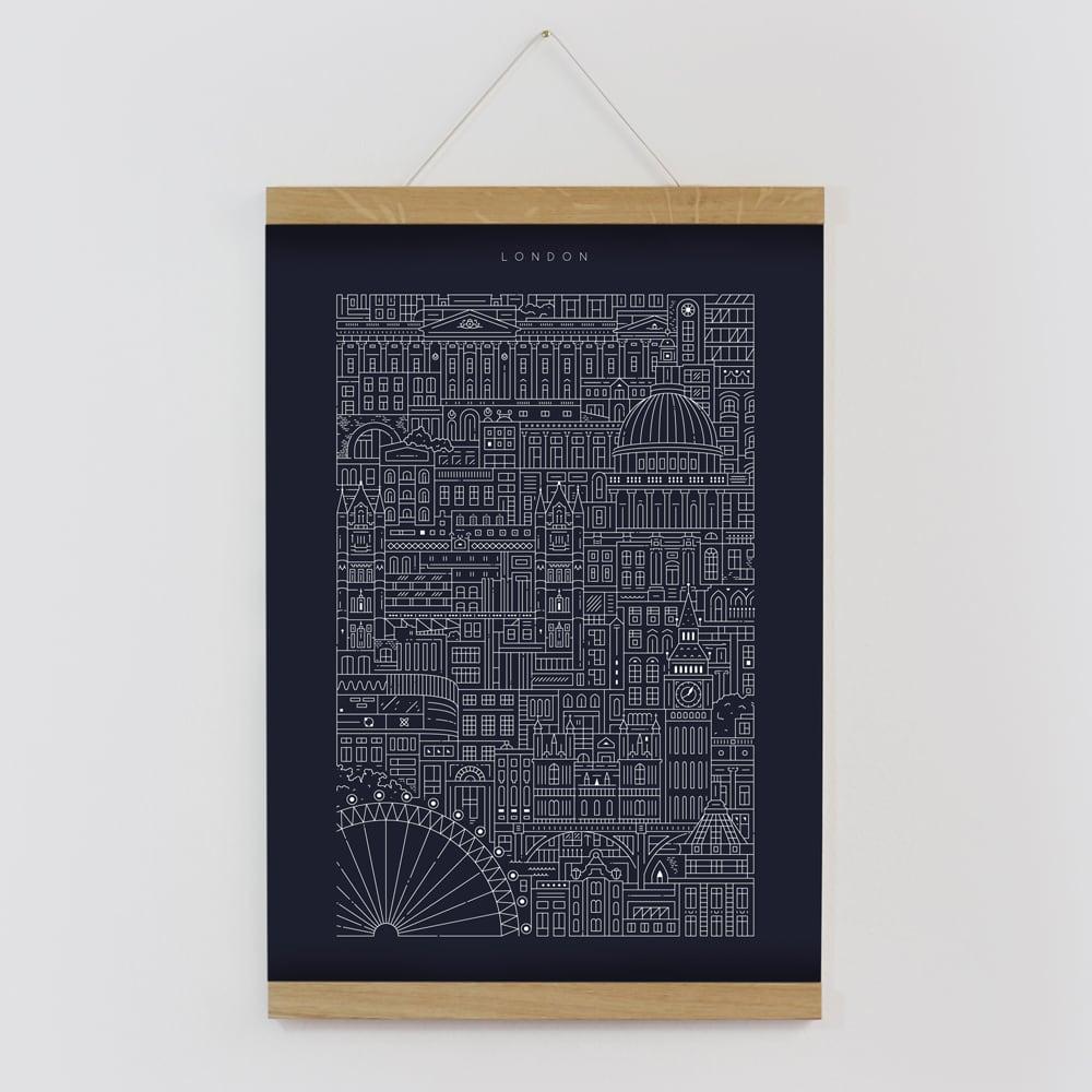 The City Works London Blueprint A3