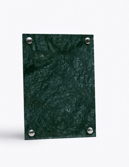 New Works A4 Indian Green Marble Picture Frame
