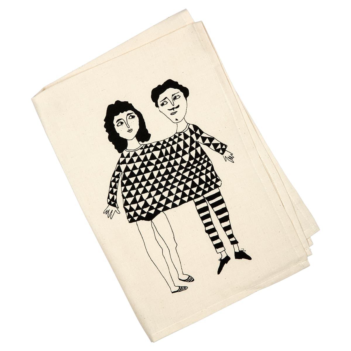 Helen B Happy Together Tea Towel