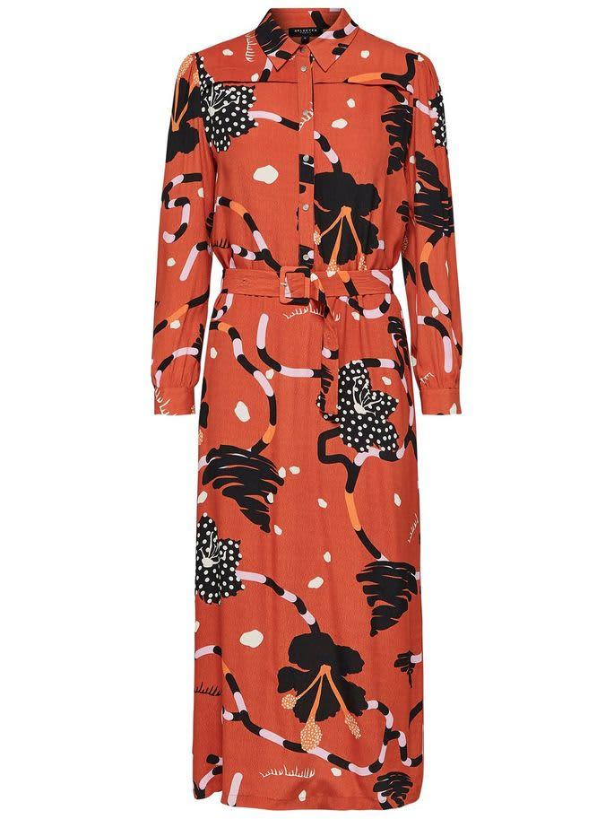 Selected Femme Kiara Midi Dress