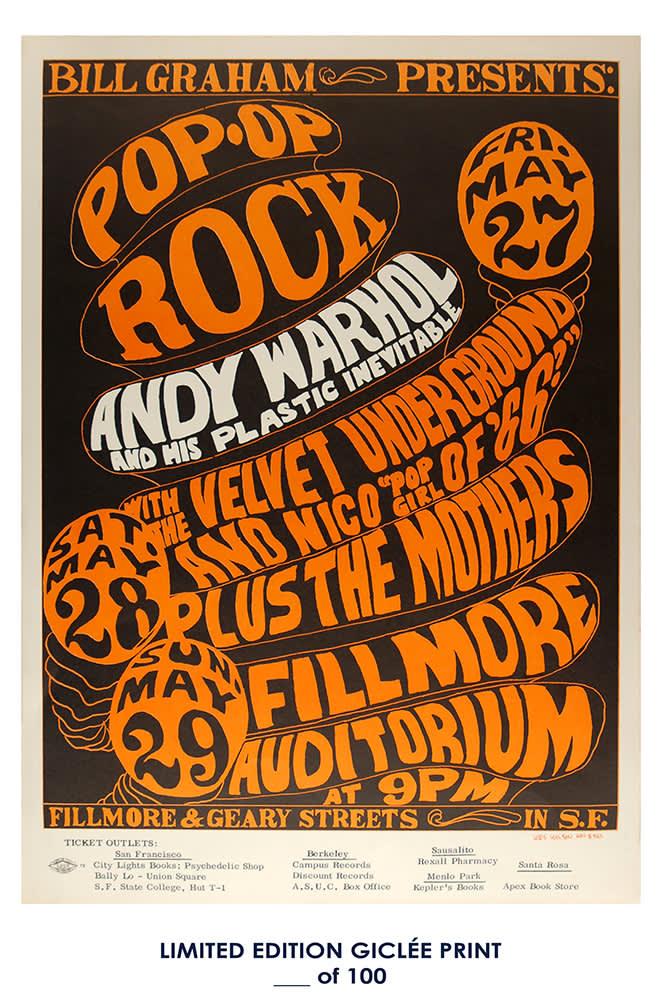 Giclee Art Prints Andy Warhol Print Poster
