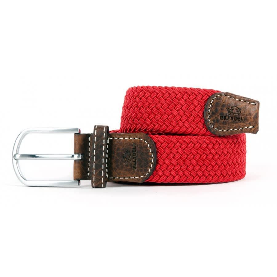 ffee09612d Trouva: Red Grenade Braided Belt For Men