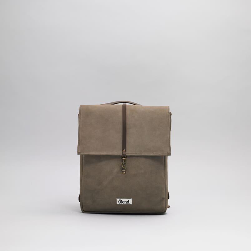 Ölend Mini Holden Leather Backpack Piedra