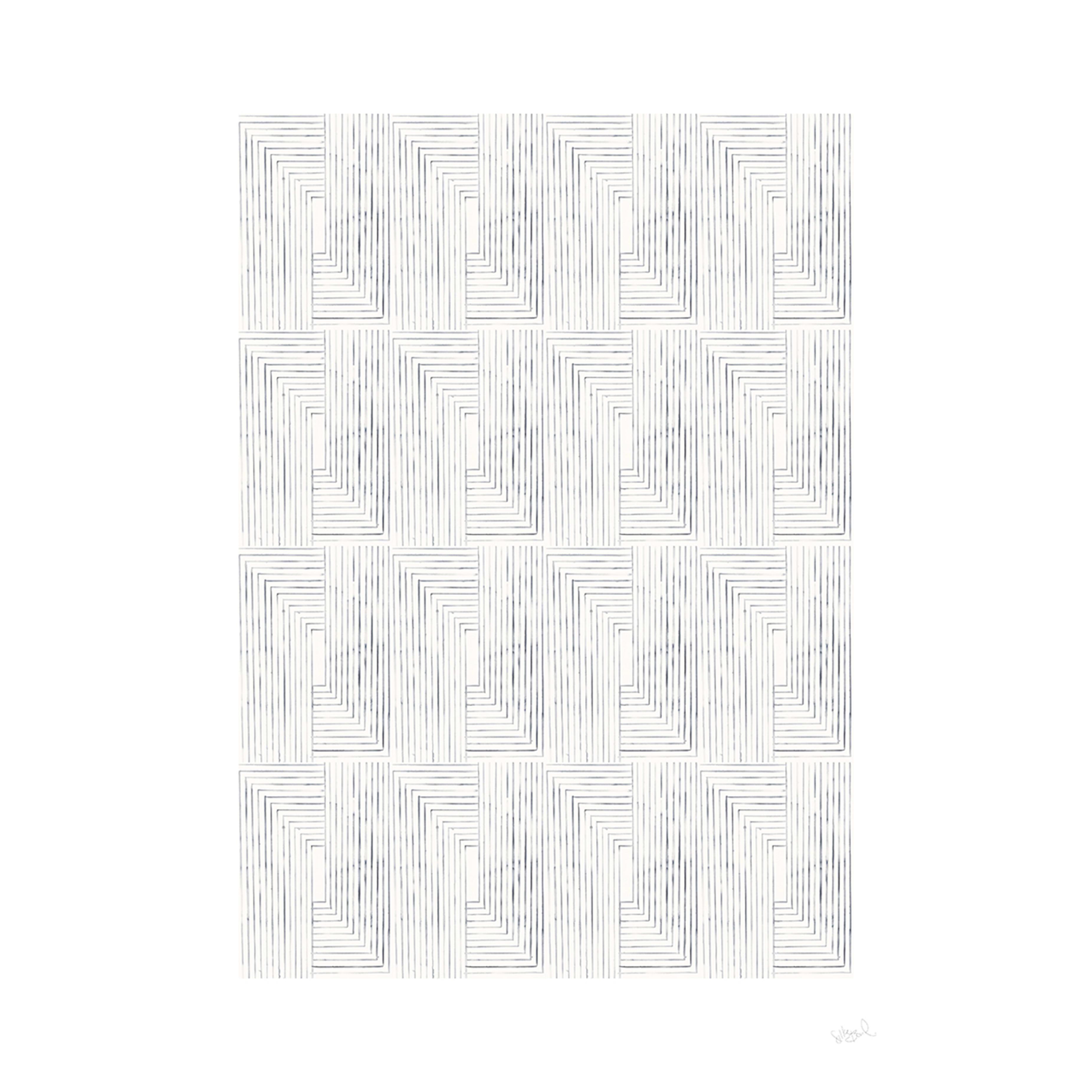 The Poster Club Loop - Silke Bonde Print