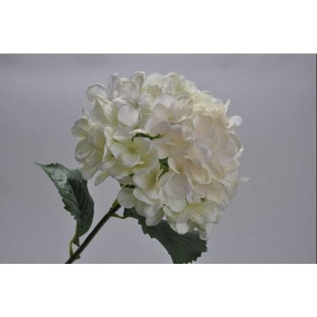 Trouva silk ka hydrangea spray white silk flower product images mightylinksfo