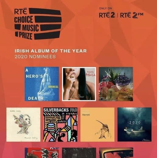 Ailbhe Reddy nominated for Irish Album of the Year at RTÉChoice Music Prize Awards