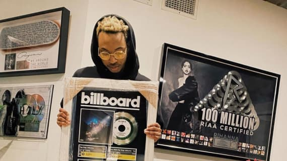 Boyband receives Billboard #1 R&B and Rap album for production on Lil Nas X '7 EP'