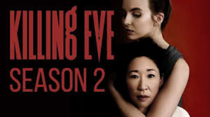 "Killing Eve Season 2 promo featuring ""It's Oh So Quiet"""