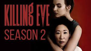 "Killing Eve Season 2 promo featuring ""It's Oh So Quiet"""
