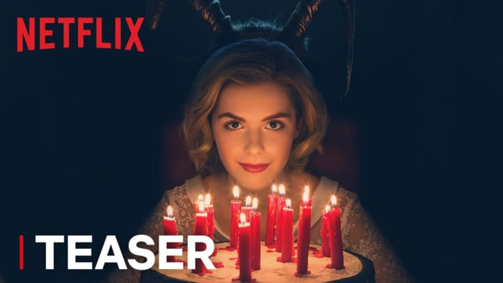 "Chilling Adventures of Sabrina, Part 2 trailer featuring ""Cherry Bomb"""