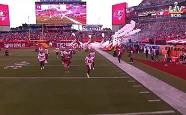 Buccaneers Super Bowl Stadium Intro