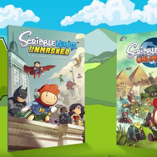 Scribblenauts Mega Pack - Launch Trailer - Nintendo Switch