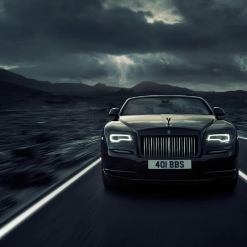 Rolls Royce: Dawn Black Badge Commercial