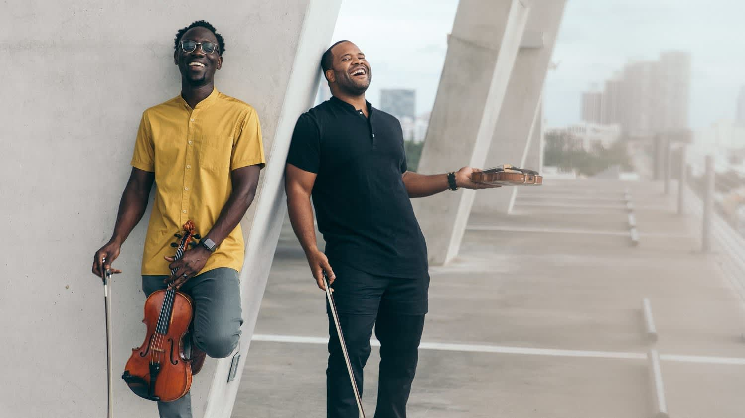 Black Violin featured in recent NPR and PBS programs