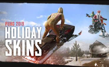 PUBG – New Skins – Holiday 2019