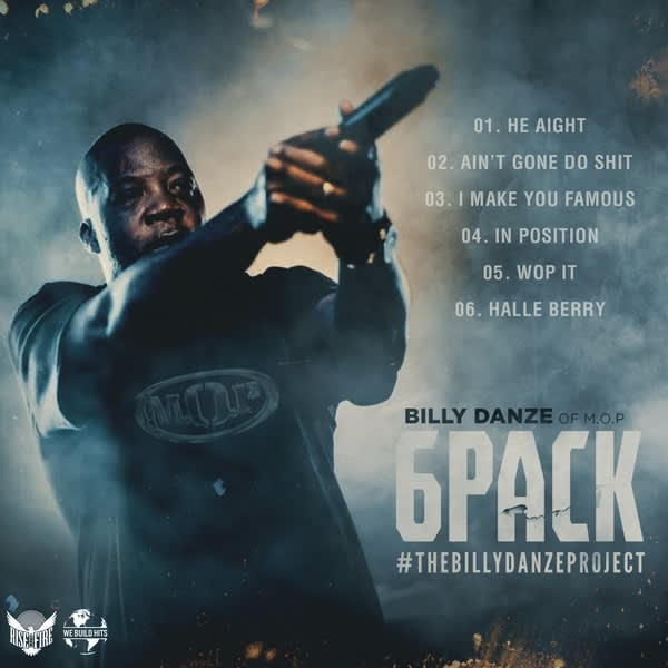 "Billy Danze announces ""6 Pack"" EP, releases new single"