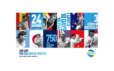 ATP Cup 2020 Launch | Rule the World