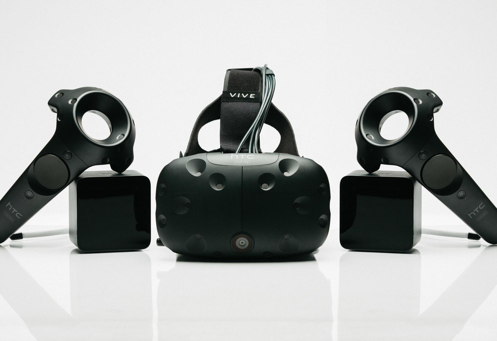 Vive VR Setup including/Computer