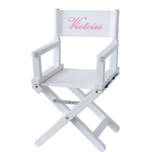 Customizable Director's Chair - Kid - Add your name