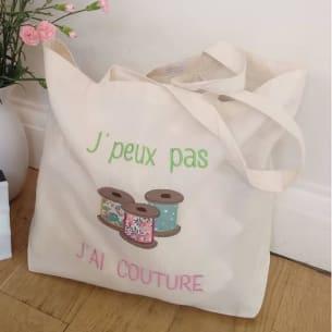 Tote Bag 18L personnalisable - 100% Coton