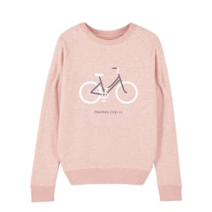Sweatshirt Pink Organic cotton bicycle
