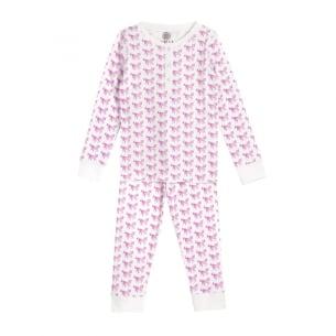 Pyjamas for girls - PINK horses