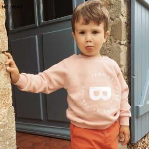 Unisex Organic Cotton Sweatshirt - Kids - Rose Nude