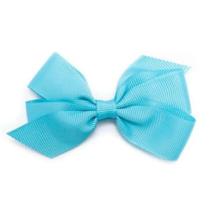 Medium Misty Turquoise Bow