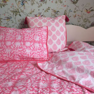 Cushion Cover FLORA pink