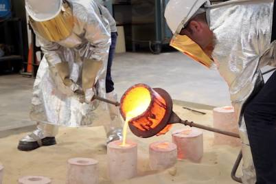 How to cast bronze sculpture vca workshop x0wdql