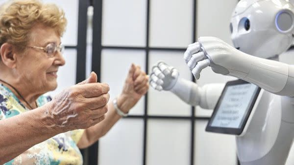 Ethical considerations of care robots used in residential aged care