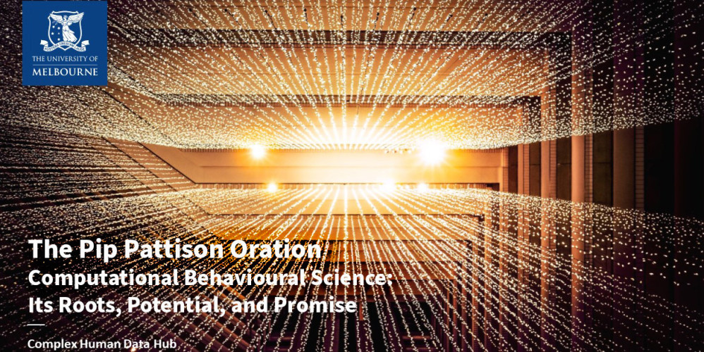 Computational Behavioural Science: Its Roots, Potential, and Promise