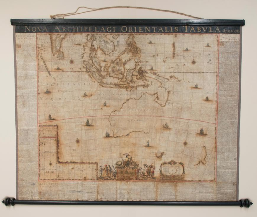Blaeu World Map.Restoring One Of The World S Rarest Maps Pursuit By The University
