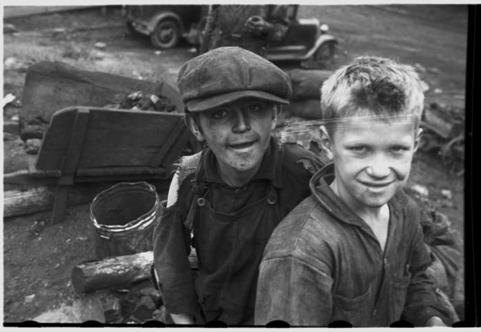 During the Great Depression in the US, children had to help their families out. Picture: Flickr