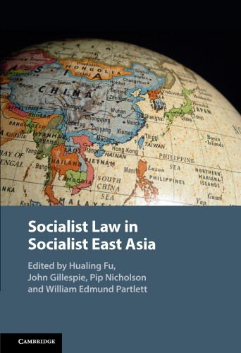 Socialist Law in Socialist East Asia Book Launch