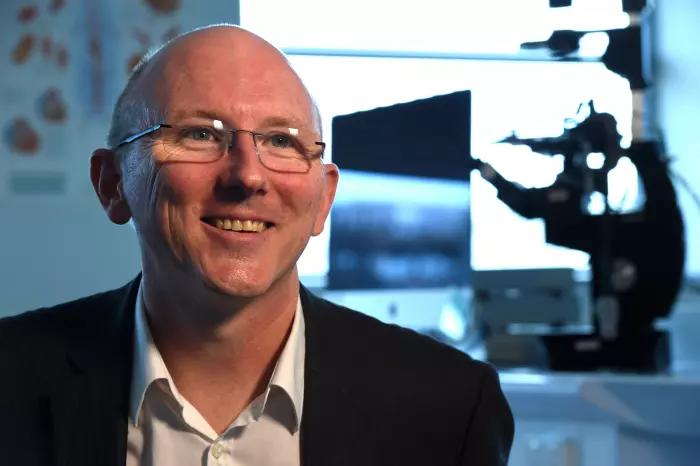<em>Professor Sean Grimmond commenced at the University of Melbourne in February 2016. Picture: Paul Burston.</em>