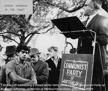 Bernie Taft and 1968: Tanks in Prague, Turmoil in Australian Universities