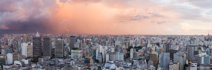 The Sao Paulo skyline. Picture: Fernando Stankuns/Flickr
