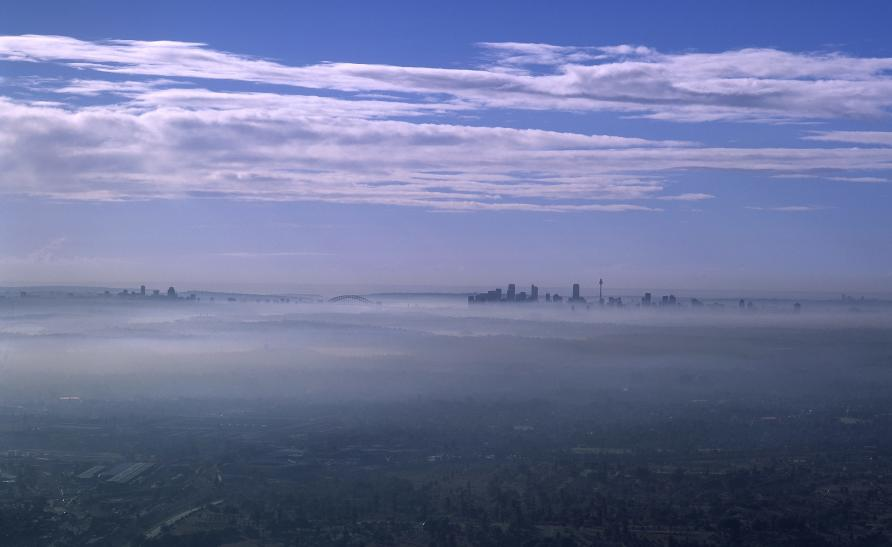 Simulating smog