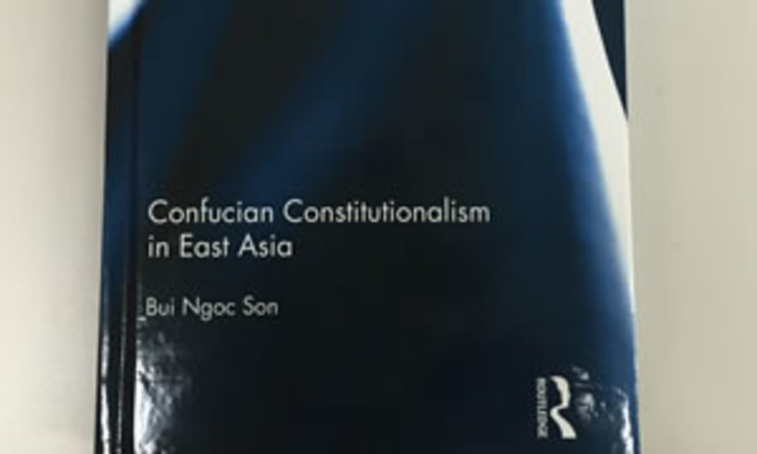 Book Launch: Confucian Constitutionalism in East Asia