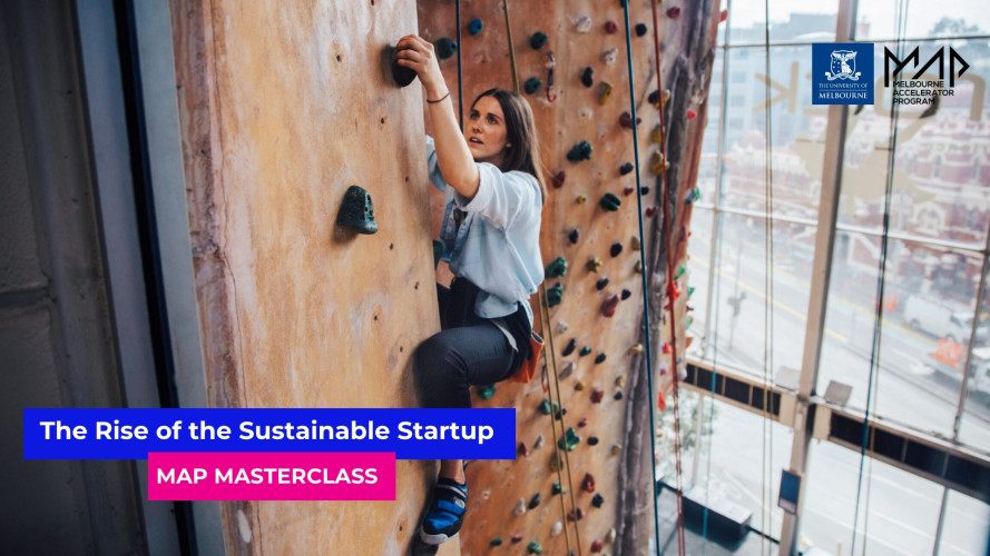 MAP Masterclass: The Rise of Sustainable Startups