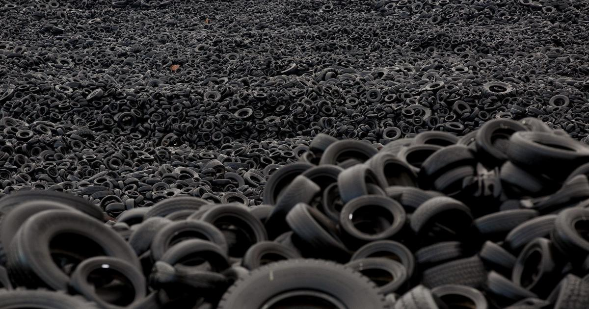 Turning Old Tyres Into New Roads Pursuit By The