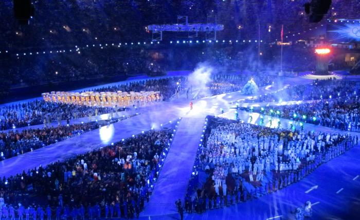 The Closing Ceremony at the Rio Olympics. Picture: David Jones/Flickr