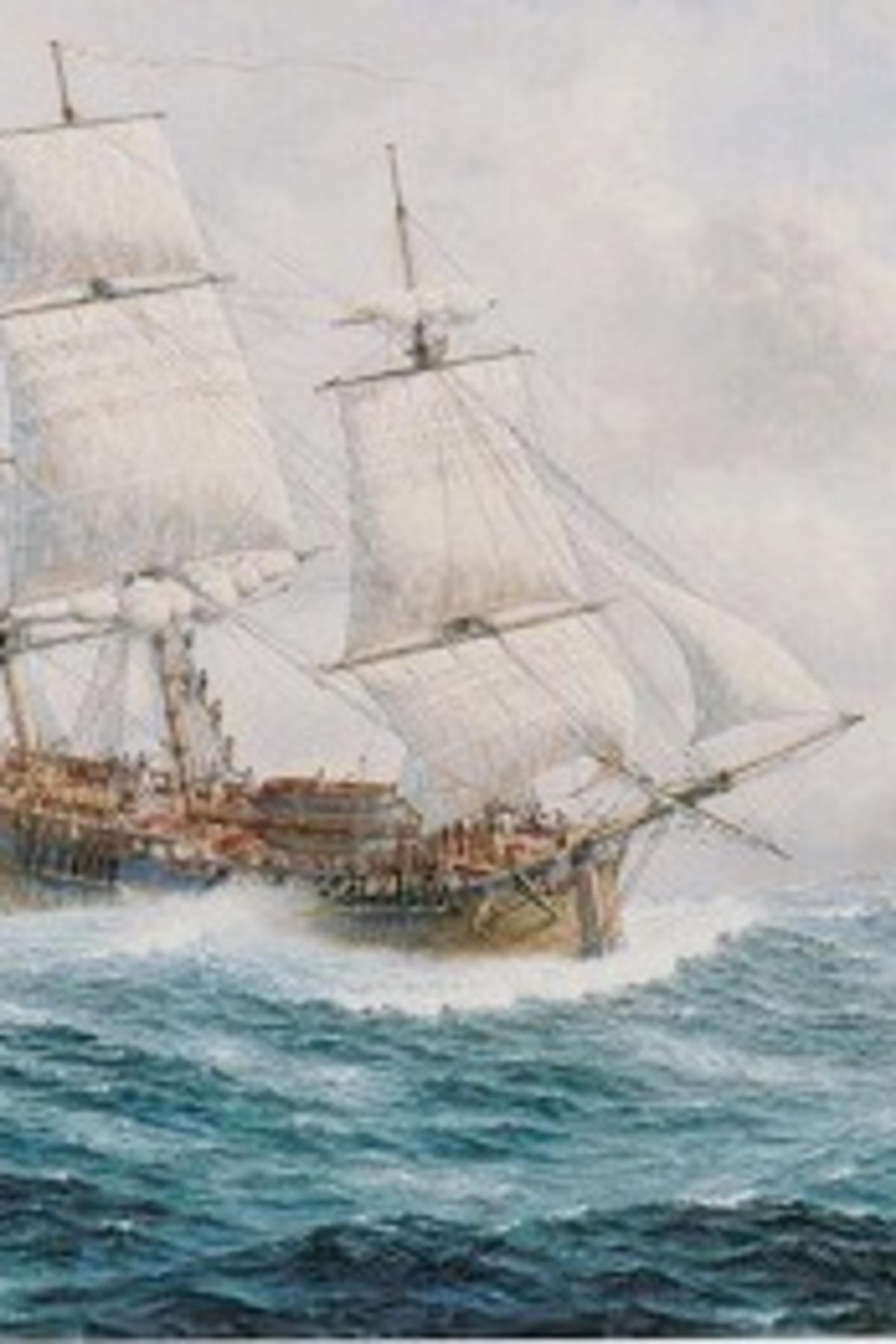 The First Fleet And Australia S Unforgiving Weather Pursuit By The University Of Melbourne