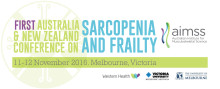 First Australia and New Zealand Conference on Sarcopenia and Frailty