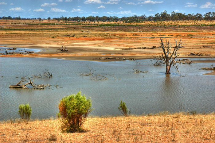 Lake Eppalock in Victoria in 2007. Picture: Alan Lam/Flickr.
