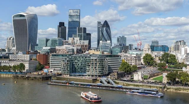 The UK imposes some of the highest financial penalties for insider trading. Picture: The City of London by Colin and Kim Hansen via Wikimedia Commons