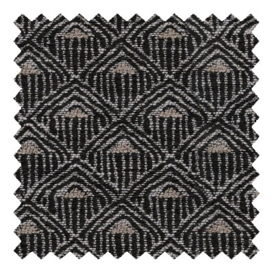 Deco Diamond Charcoal
