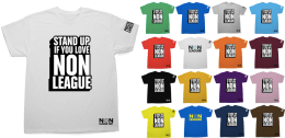 Exclusive Non-League Day T-shirt + Prostate Cancer UK Pin Badge